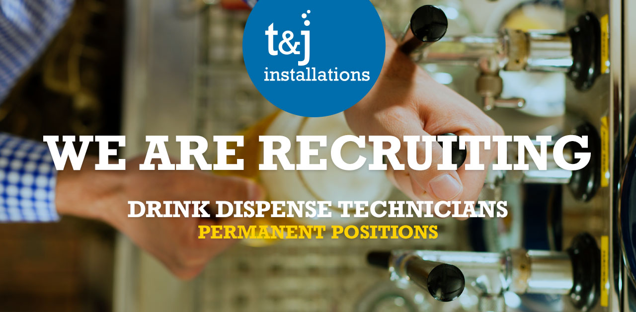 Drink dispense technicians advert