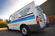 Drinks dispense service vans