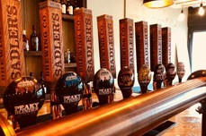 Sadler's Tap Room taps