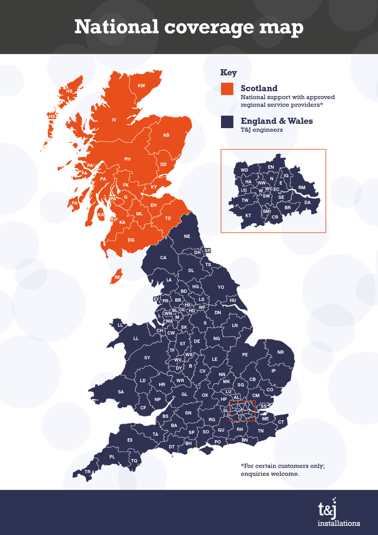 National Coverage Map
