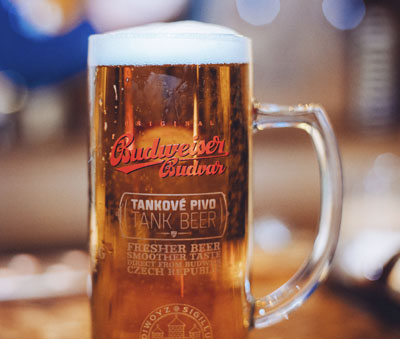 Budvar Tank Beer Pint
