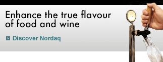 Enhance the true flavour of food and wine, discover Nordaq FRESH